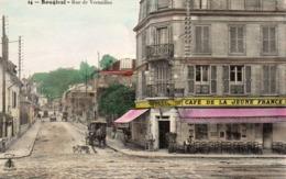 BOUGIVAL - Rue De Versailles, Animée - Bougival