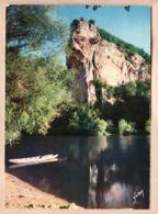 X24182 Dordogne DOUCE FRANCE BORD RIVIERE Barque Série COULEURS LUMIERE FRANCE 1970s - YVON N°72 - Francia