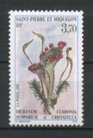 SPM MIQUELON 1995 N° 611 ** Neuf MNH Superbe C 1.70 € Fleurs Cladonia Cristatella Dicranum Flowers Flore Flora - St.Pierre Et Miquelon