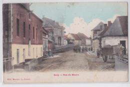 GOUY (Aisne) - Rue Du Moulin - Cpa Colorisée - France