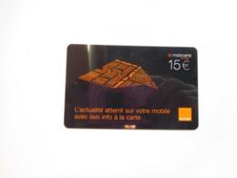 Télécarte , Mobicarte , SMS - Mobicartes (recharges)