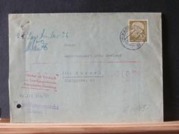 A10/697   LETTRE ALLEMAGNE1956 - Briefe U. Dokumente