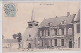 LE CATELET (Aisne) - Eglise Et Mairie - Justice De Paix - France