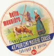 Rare étiquette De Fromage La Belle Meunière - Fromage