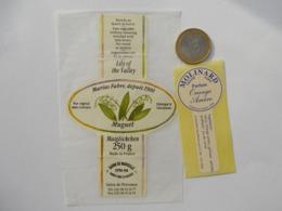 Etiquette Parfum Ancienne MOLINARD GRASSE - Etiquettes