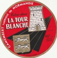 Rare étiquette De Fromage Camembert La Tour Blanche - Fromage