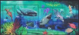 Australia 1998 Planet Ocean Minisheet CTO - 1990-99 Elizabeth II