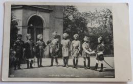 Belle CPA Précurseur Indian Cavalry Cavalerie Indienne Tampon 1904 M. Caule Urbain Montbazens - Régiments
