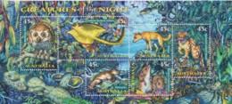 Australia 1997 Creatures Of The Night Minisheet CTO - 1990-99 Elizabeth II
