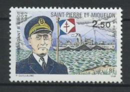SPM MIQUELON 1993  N° 573 ** Neuf  MNH Superbe C 1.65 €  Bateaux Boats Ships Commandant BIROT - St.Pierre Et Miquelon
