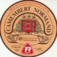 Rare étiquette De Fromage  Camembert  Normand Radar - Fromage