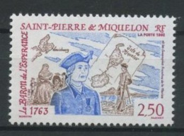 SPM MIQUELON 1992 N° 570 ** Neuf MNH Superbe C 1.40 € Le Baron De L' Espérance Marine Compagnies Franches - St.Pierre Et Miquelon