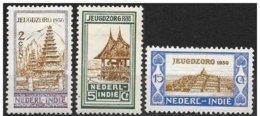 India Olandese/Néerlandais Inde/Dutch India: Templi Diversi,  Different Temples, Divers Temples - Buddhismus