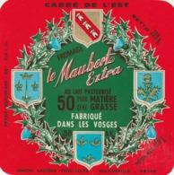 Rare étiquette De Fromage  Carré De L'est Maubert Extra - Fromage