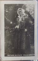 COSTUME Dell'ALTA VALLE VARAITA - Viaggiata Nel 1927 Formato Piccolo - Vestuarios