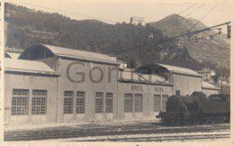 France - Breil Sur Roya - Train Station - Steam Train - Stations With Trains