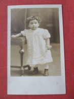 RPPC Dorothy Mae Smith Age 16 1/2 Months March 12 1927      Ref 3632 - Portraits