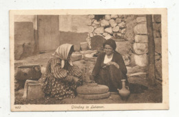 Cp , LIBAN ,  Grinding In LEBANON , Vierge ,  Ed. Sarrafian - Liban