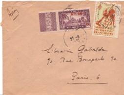 AOF : 1951 - Lettre Par Avion Pour La France - A.O.F. (1934-1959)