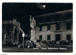 TREVISO:  PIAZZA  INDIPENDENZA  -  NOTTURNO  -  FOTO  -  FG - Treviso