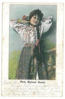 RO 98 - 14235 ETHNIC, Woman - Old Postcard - Used - 1905 - Rumänien