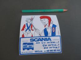 Autocollant - Ville - SECLIN - SCANIA - Camion - Autocollants
