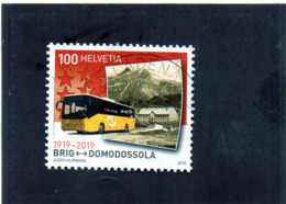 2019 Svizzera - Cent. Ferrovia Briga-Domodossola - Switzerland