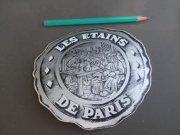 Autocollant - Ville - PARIS - ETAINS - Autocollants