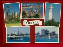 CP Chypre Larnaca Multivue - Ancien City-Kingdom Of Kiti - écrite 20-09-1988 - Chypre