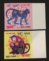 Vietnam Viet Nam MNH Imperf Stamps 2015 : Greeting New Year Of Monkey 2016 (Ms1061) - Viêt-Nam