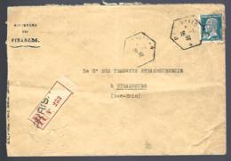RECOMMANDÉ EN PROVENANCE DE PARIS - 1930 - THÈME PASTEUR - - France