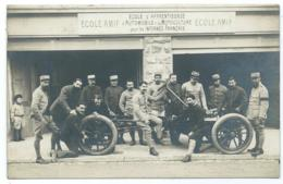 TOP CARTE PHOTO CLARENS, ECOLE AMIF, ECOLE D'APPRENTISSAGE D'AUTOMOBILE ( AUTO ) MOTOCULTURE INTERNES FRANCAIS, MONTREUX - VD Vaud