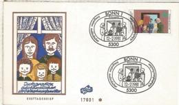 ALEMANIA FDC BONN 1981 INTEGRACION - Refugiados
