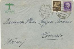 "ITALIAN-LIBYA ""POSTA MILITARE / Nro 261"" CDS On Very Fine Airmail Cover To Italy - Libya"