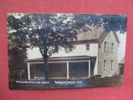 RPPC   Friends Meeting House Duaker Street NY    Ref 3633 - Autres