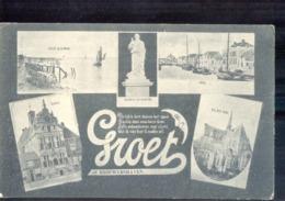 Brouwershaven - Groet - 1908 - Grootrond - Bruinisse - Andere