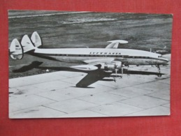 Lufthansa Lockhead Constellation   Germany Stamp & Cancel   Ref 3633 - 1946-....: Modern Era