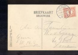 De Bildt 3 - Langebalk - 1917 - Storia Postale