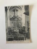 Mesen - Messine. - Eglise - Maître-Autel - Gelopen Naar UK ( Fieldpost) Military War 1914-1918 - Messines - Mesen