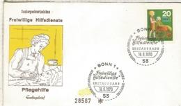 ALEMANIA FDC BONN 1970 MINUSVALIA MINUSVÁIDO HANDICAPED - Handicap
