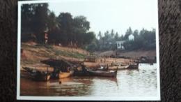 CPM CAMBODGE CAMBOODIA TYPICAL LIFE ON THE STOENG SANGKER RIVER BATTAMBANG - Cambodge