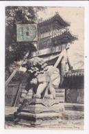 CP CHINE Entée Du Temple Des Lamas PEKIN - Chine