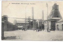 CPA PAS-DE-CALAIS 62 HENIN-LIETARD  Mines De DOURGES -Fosse Mulot  N°17 Carte En Feldpost ! - Henin-Beaumont