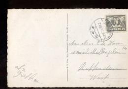 Teteringen - Langebalk - 1937 - Poststempel