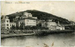 ONEGLIA  IMPERIA  Villini E Grand Hotel  Borgo Peri - Imperia