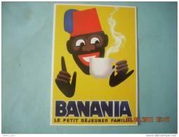 CLOUET 10743 BANANIA LE PETIT DEJEUNER FAMILIAL   DESSIN DE MORVAN - Publicité