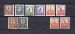 West-Sachsen - 1946 - Michel Nr. 150/155 + 156/157 + 160/161 - Sowjetische Zone (SBZ)