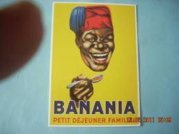 CLOUET    10399   BANANIA  TETE - Publicité