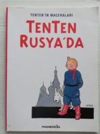 "Tintin  TURKISH EDITION/ TENTEN'in Maceraları "" TENTEN RUSYA'DA"" - Stripverhalen (andere Talen)"