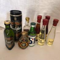 MIGNONETTE Lot De 7 Vintage - Andere Flessen